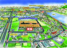 人気の徳島市川内町に新規10区画分譲開始!どこに行くにも便利なアクセス!